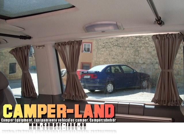 Vendo cortinas con carriles para furgonetas y los camper - Cortinas segunda mano ...