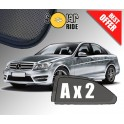 UV Car Shades, Sunshades, Car Window Sun Blinds Mercedes-Benz W204 C-Class