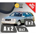 Sun Shades Mercedes-Benz S210 W210 (1999-2003) Estate